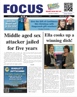 Focus newspaper front cover